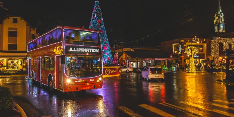 O que fazer no Natal Luz em Gramado - Bustour Illumination