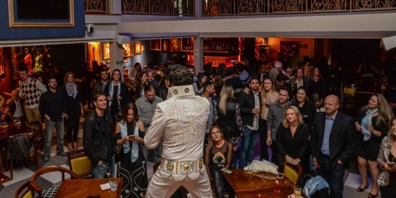 Hard Rock Cafe Gramado: Show do Elvis