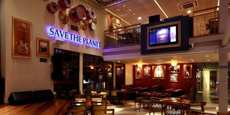O que fazer em Gramado com chuva: Hard Rock Cafe Gramado
