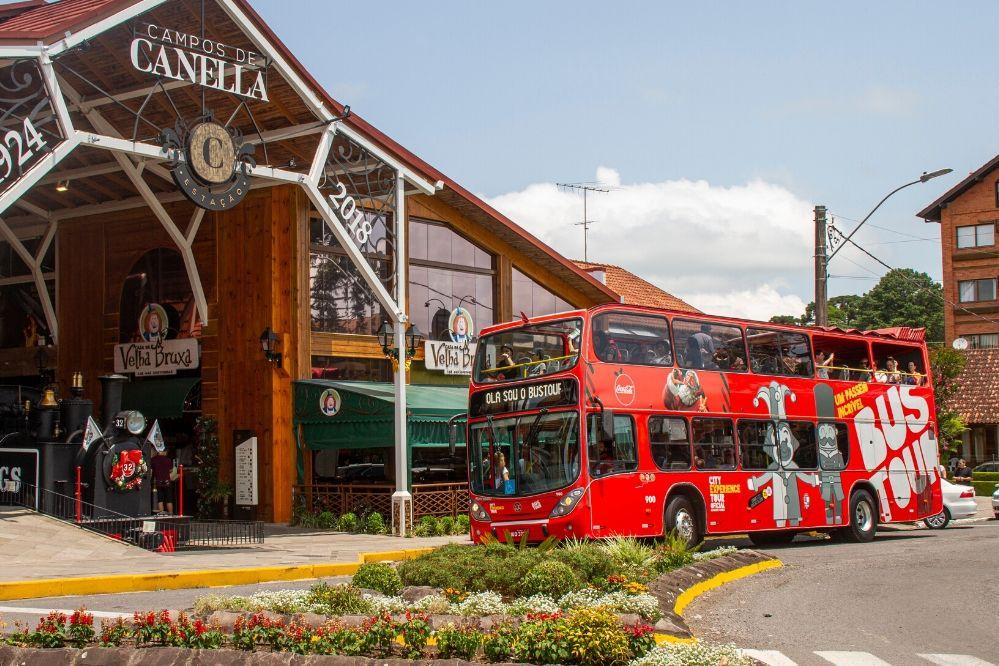 Conheça as paradas do Bustour em Gramado e Canela