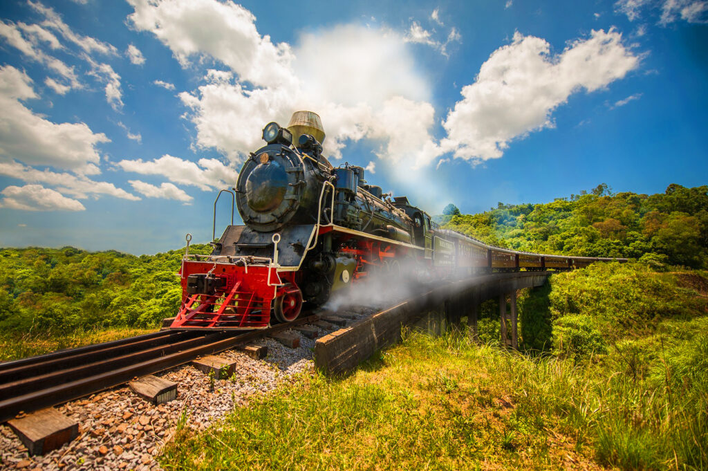 Trem Maria Fumaça em Bento Gonçalves